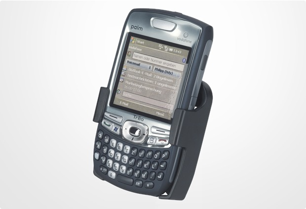 HR Auto-Comfort PDA-Halterungsschale für Palm Treo 650/ 680/ 700/ 750