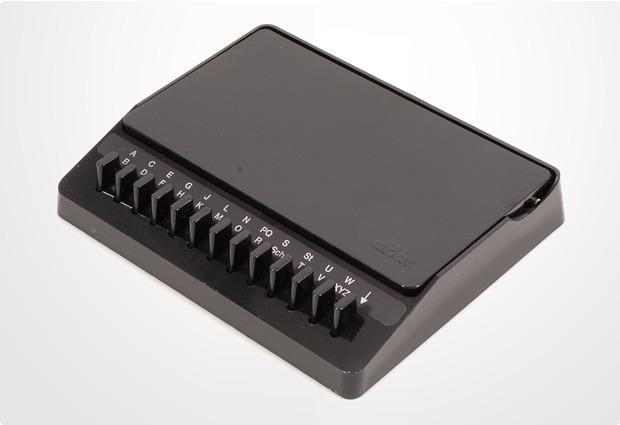 Telefonregister Luxadex-S schwarz