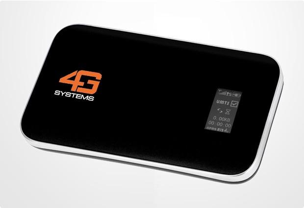 4G Systems XSBoxGO+ UMTS-WLAN-Router (Hotspot)