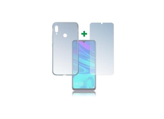 4smarts 360° Protection Set Limited Cover für Huawei P Smart (2019) transparent