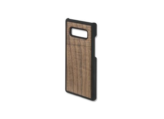 4smarts Clip-On Cover Trendline Wood für Samsung Galaxy Note8 walnuss
