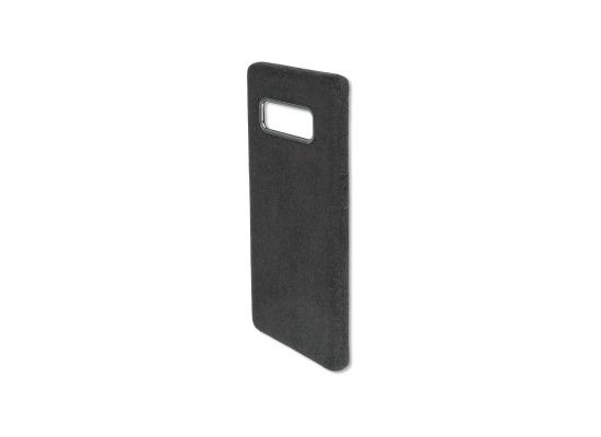 4smarts Clip-On Cover VELOURS für Samsung Galaxy Note8 schwarz