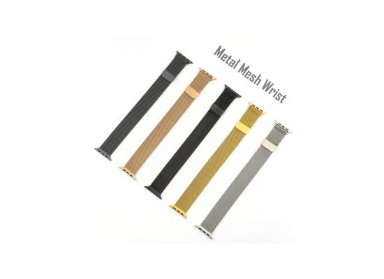4smarts Metal Mesh Armband für Apple Watch Series 4 (44mm) & 3/2/1 (42mm) rose gold