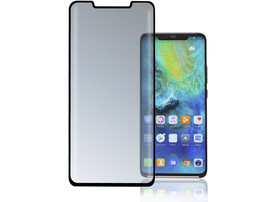 4smarts Second Glass Curved Colour Frame, Huawei Mate 20 Pro, schwarz