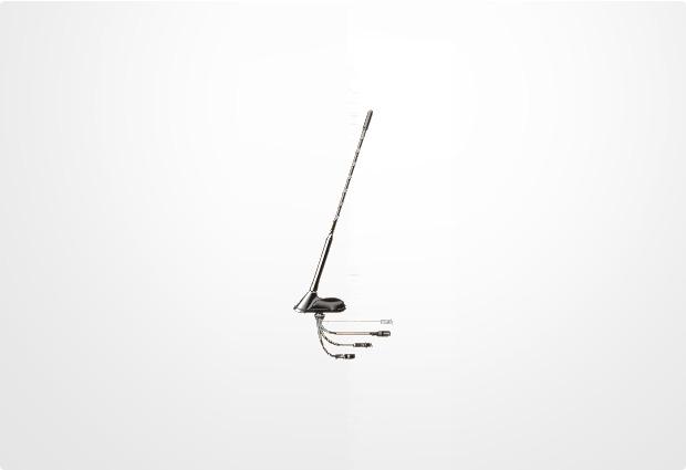 Antenne Bad Blankenburg Sportflex aktiv GPS/Dualband/Radio GSM 0dB/PCN 0dB/Radio 7dB/GPS 28dB