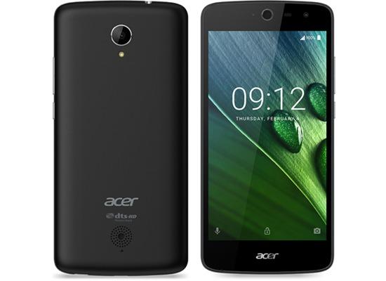 Acer Liquid Zest 4G - schwarz