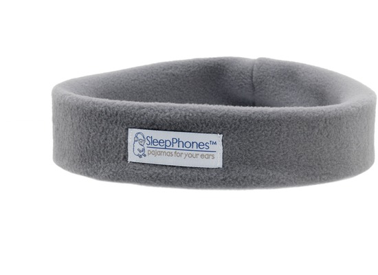 AcousticSheep Bluetooth Stereo Stirnband Kopfhörer SleepPhones Wireless, grau