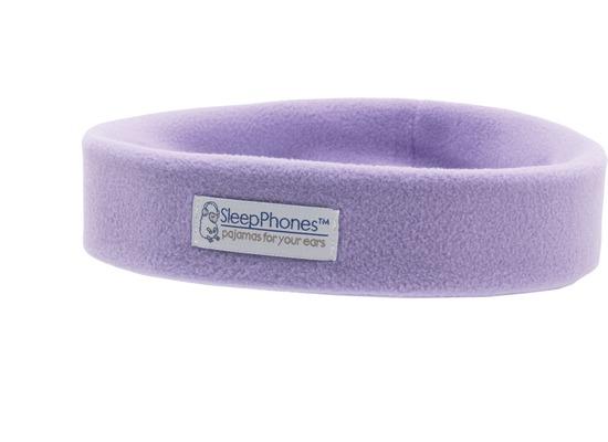 AcousticSheep Bluetooth Stereo Stirnband Kopfhörer SleepPhones Wireless, lavendel