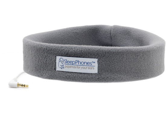 AcousticSheep Stirnband Stereo Kopfhörer SleepPhones, grau