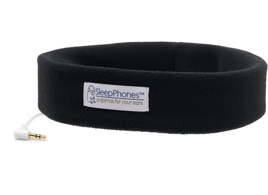 AcousticSheep Stirnband Stereo Kopfhörer SleepPhones XS, schwarz