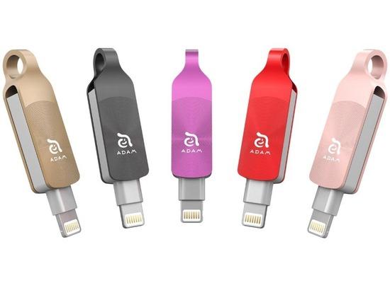 ADAM Elements iKlips DUO+ - 128GB - schwarz