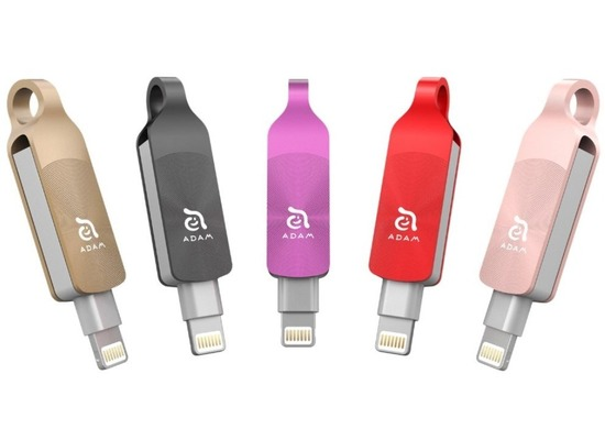 ADAM Elements iKlips DUO+ - 64GB - rosegold