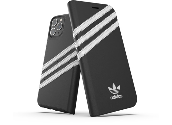 adidas OR Booklet Case PU FW19 for iPhone 11 Pro black/white