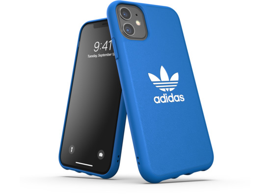 adidas OR Moulded Case Basic FW19 for iPhone 11 bluebird/white