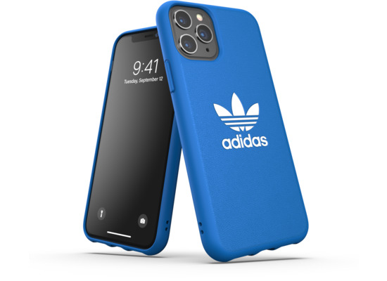 adidas OR Moulded Case Basic FW19 for iPhone 11 Pro bluebird/white