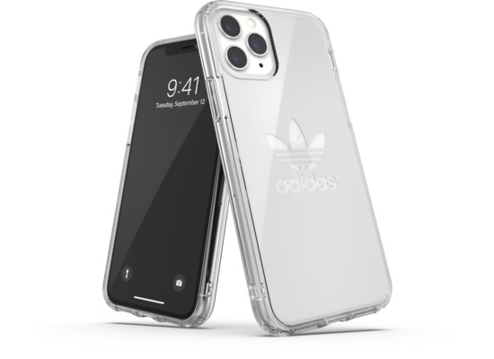 adidas OR Protective Clear Case Big Logo FW19 for iPhone 11 Pro clear
