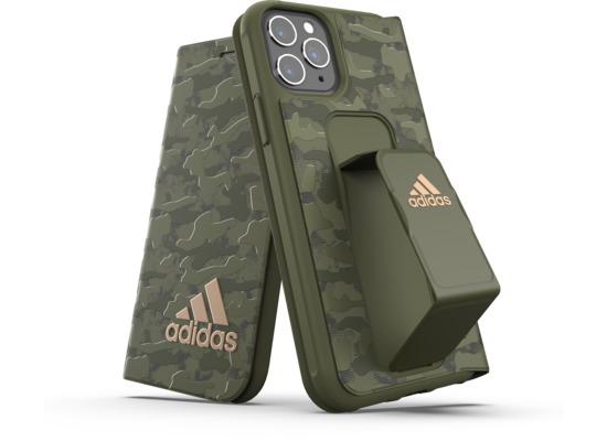 adidas SP Folio Grip Case Camo FW19 for iPhone 11 Pro tech olive