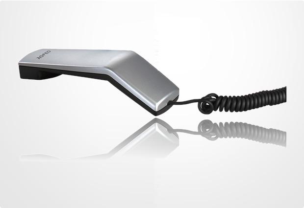 Agfeo Ersatzhörer für T10 / T15, silber