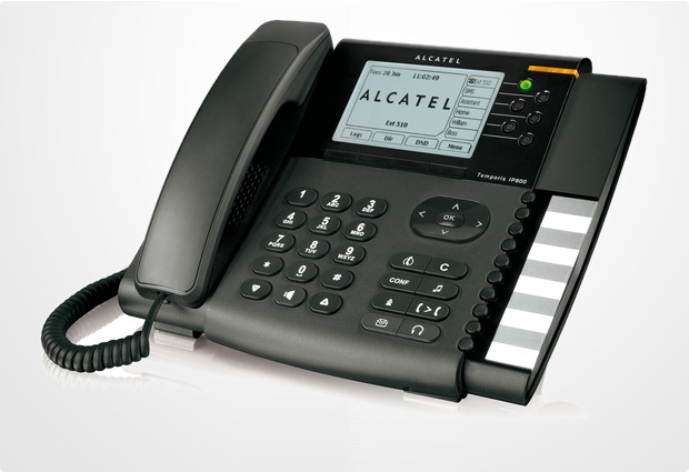 Alcatel business phones Temporis IP800, schwarz