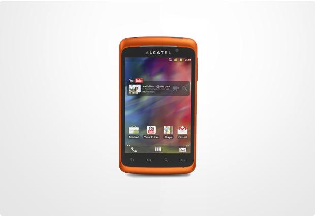 Alcatel onetouch 991D PLAY, orange