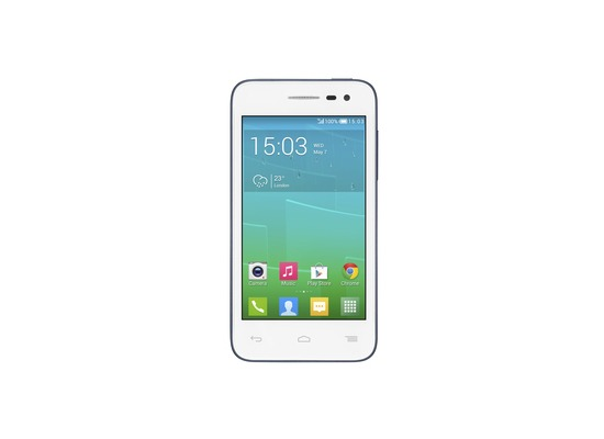 Alcatel onetouch POP S3, white