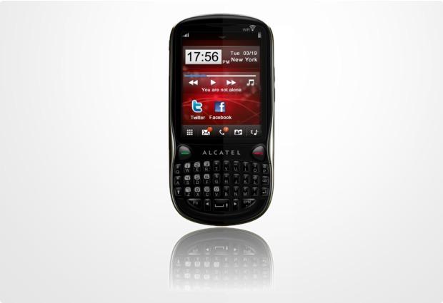 Alcatel onetouch OT-806D Dual-SIM, schwarz