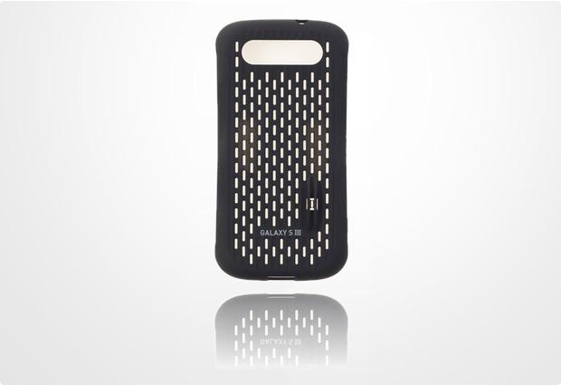 ANYMODE Coin Cool Case für Samsung Galaxy S3, schwarz