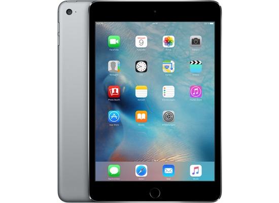 Apple iPad mini 4 WiFi + LTE, 128 GB, spacegrau (Apple Sim)