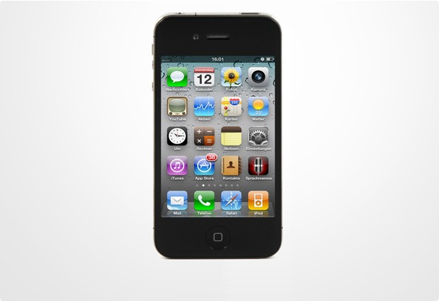 Apple iPhone 4S 16GB, schwarz
