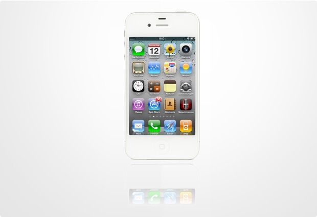 apple iphone 4s 16gb wei bei kaufen. Black Bedroom Furniture Sets. Home Design Ideas