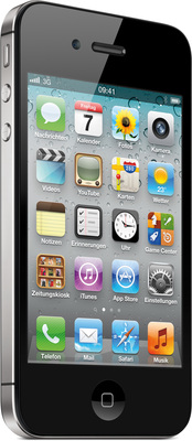 Apple iPhone 4S 32GB, schwarz (Telekom)