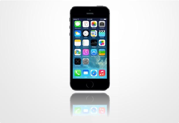 Apple iPhone 5s, 16GB, spacegrau