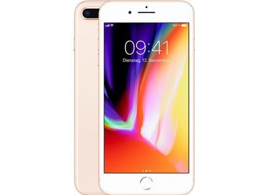 Apple iPhone 8 Plus, 256GB - Gold