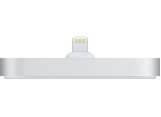 Apple iPhone Lightning Dock silber
