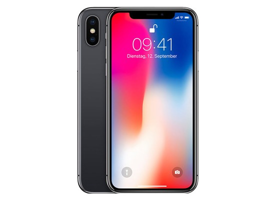 Apple iPhone X, 256 GB, Space Grey