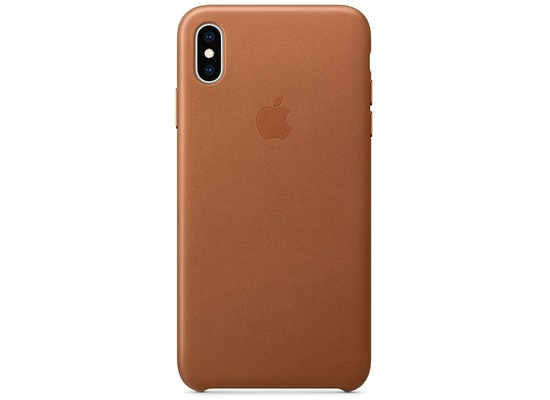 Apple iPhone XS Max Leather Case saddle brown