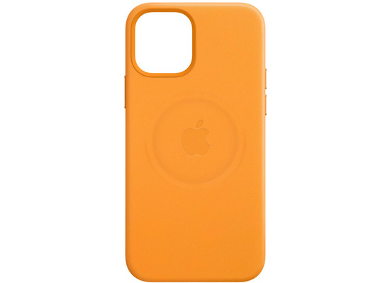Apple Leder Case iPhone 12 mini mit MagSafe (california poppy)