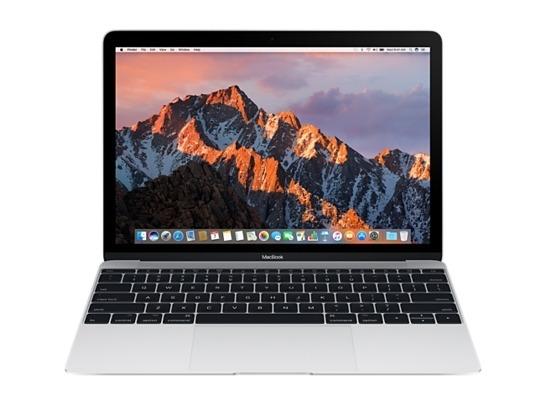 "Apple MacBook 12\"" (Modell 2017) - 1.2 GHz Dual-Core m3 - 8 GB - 256 GB SSD - silber"