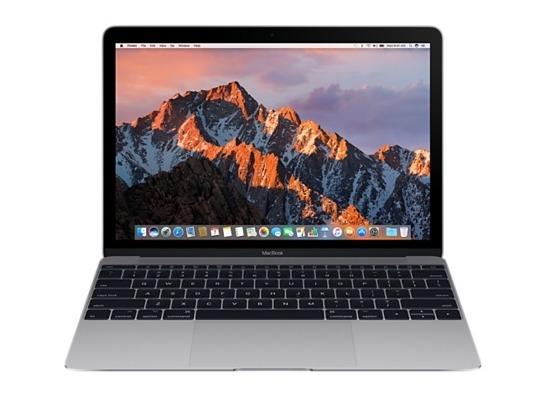 "Apple MacBook 12\"" (Modell 2017) - 1.2 GHz Dual-Core m3 - 8 GB - 256 GB SSD - spacegrau"