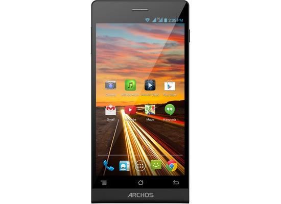 ARCHOS 50 Oxygen Plus 16GB, schwarz