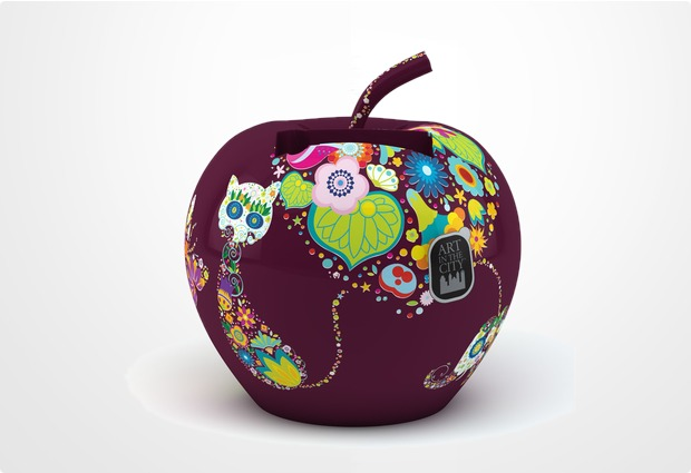 Art In The City Charge-N-Fruits Paradiesapfel