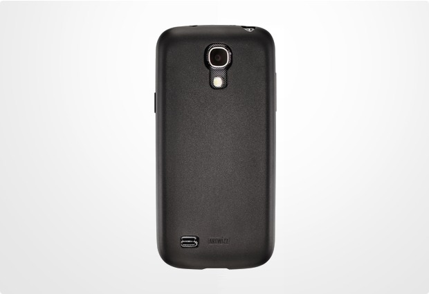Artwizz SeeJacket TPU für Samsung Galaxy S4 mini, schwarz