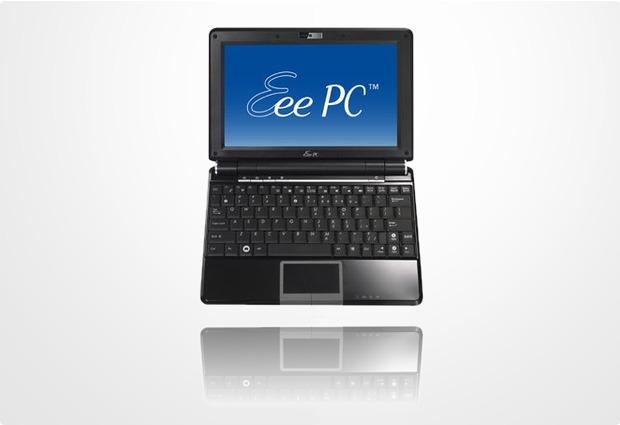 Asus Eee PC 1000H schwarz, inkl Vodafone Stick