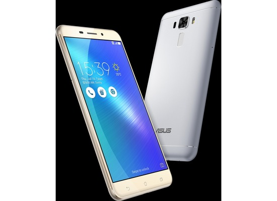 Asus Zenfone 3 Laser, glacier silver