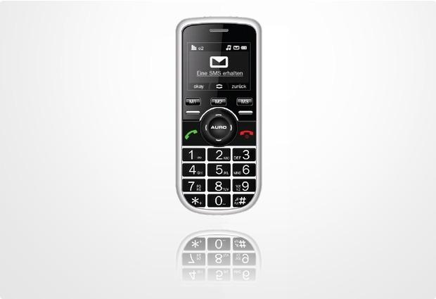 AURO M301, schwarz inkl. Ladeschale