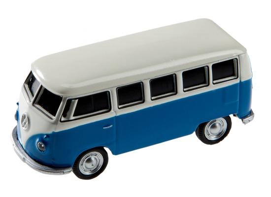 AutoDrive , USB 2 Flash Drive, VW Bus T1 Bulli, 16 GB, blau
