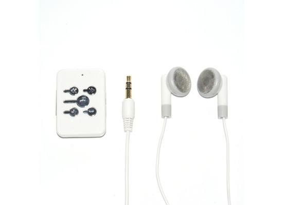 B-Speech Drahtloses Headset Twister Neo weiß In-Ear Headset mit Steuerung