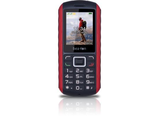 beafon AL550, schwarz-rot
