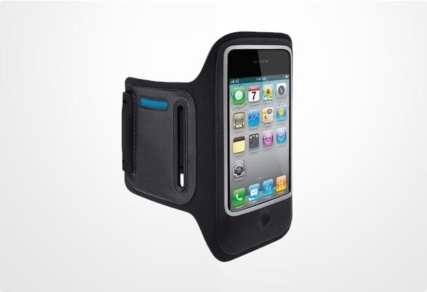 Belkin DualFit Sportarmband f�r iPhone 4, schwarz