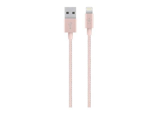 Belkin Premium MixIt Lightning Kabel, 1.2m, rosé-gold